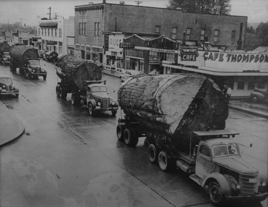 Logging photo from Northwest - Restore Historic Windows Webinar